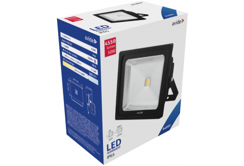 Avide LED Flood Light 50W CW 6400K