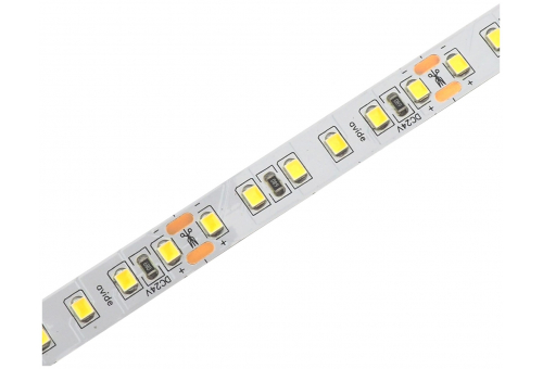 Avide LED Strip 24V 24W 3000K IP20 5m