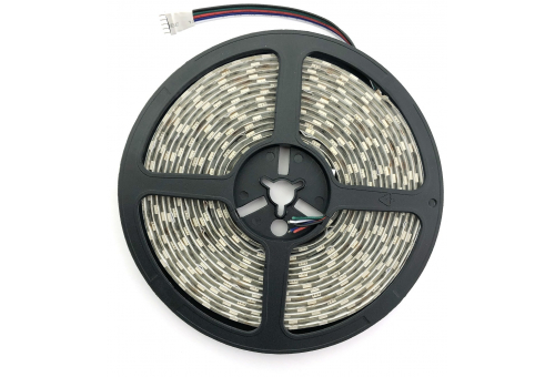 Avide LED Strip 24V 21.6W RGB+W IP65 5m