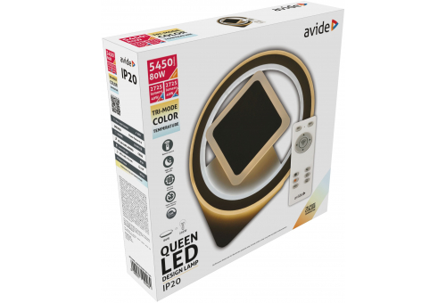 Avide Design Oyster Queen  80W(40+40) with RF remote